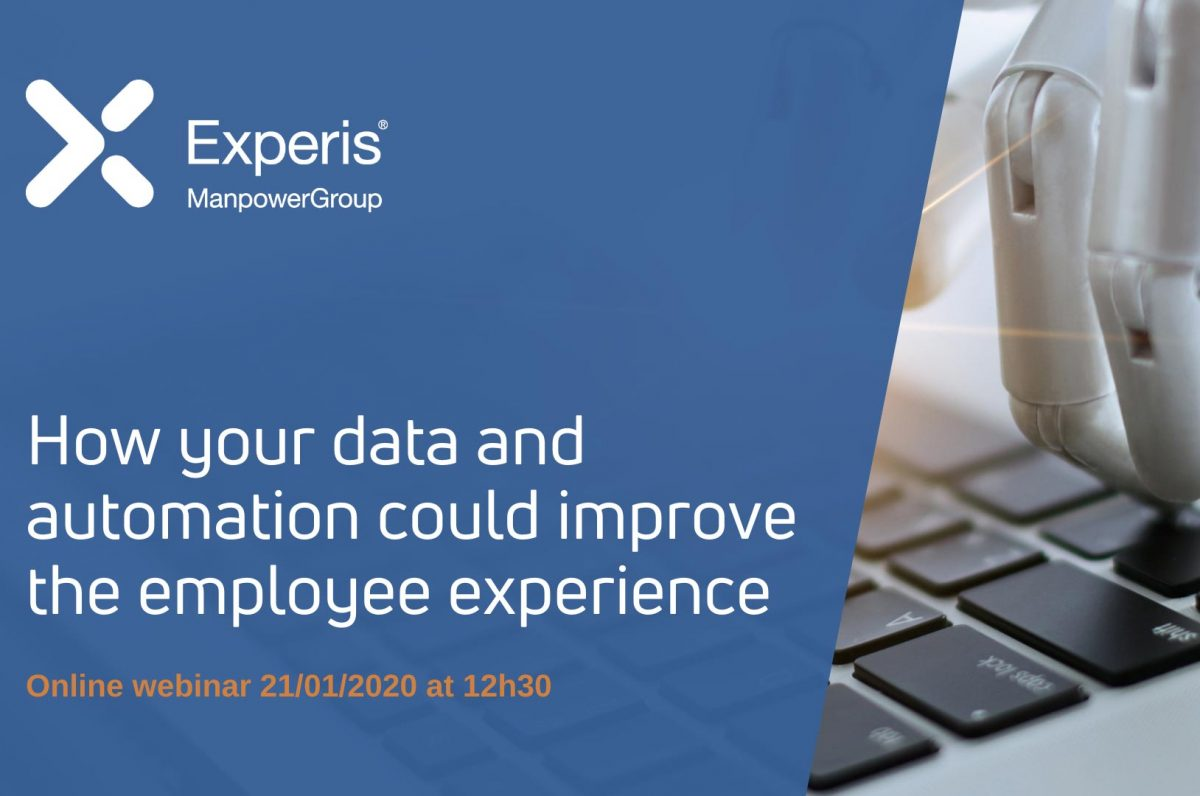 How your data and automation could improve the employee experience